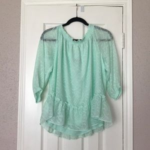 Off the shoulder Banana Republic blouse